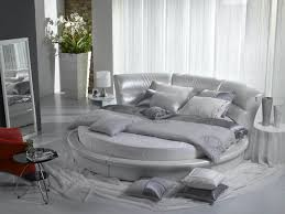 Modern White And Silver Bedroom A Gorgeous Round Bed Advantages And Disadvantages Of Getting One