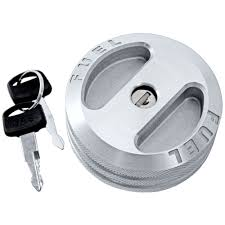 scott drake 5r3z 9030 bl mustang locking gas cap billet 05 09