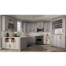 home depot kitchen cabinet tops shaker assembled 36x34 5x24 in sink base kitchen cabinet in dove gray