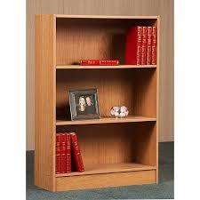 3 Shelf Bookcase With Doors 3 Shelf Bookcase Finishes Walmart