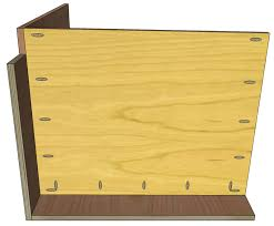 European Style Cabinets Construction How To Build Frameless Base Cabinets
