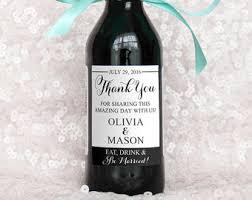 wine bottle wedding favors mini wine bottle etsy