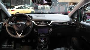 opel corsa opc interior brand new opel corsa bows at paris motor show 2014 live photos