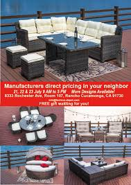 Patio Furniture Warehouse Sale by Festival Depot Warehouse Sale Ca July 2016 Whsale