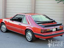 1985 5 mustang svo 31 best ford mustang svo images on mustang svo fox