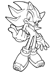 coloring pages for kids sonic x free cartoon coloring pages of