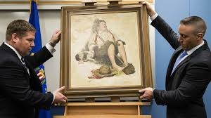 stolen norman rockwell painting returned after 40 years nbc news