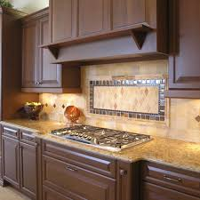 Backsplash Maple Cabinets Varnished Wood Kitchen Backsplash Ideas For Maple Cabinets And Gas