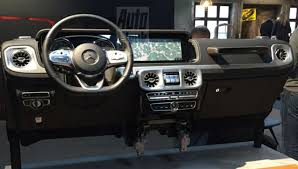 mercedes g class interior interior of generation mercedes g class leaked