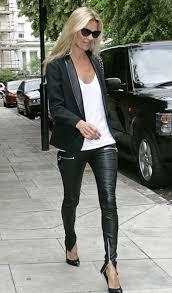 Real Leather Leggings Era Style Loft Current Elliott Leather Pants