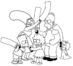 simpson coloring pages the simpsons coloring pages printable cartoon pinterest