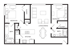 House Plans 1200 Square Feet Open Floor Plans For Students Living In Austin