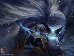Wildfire Eternal Gatherer by Niblis Of Frost Eldritch Moon Mtg Art Planeswalking