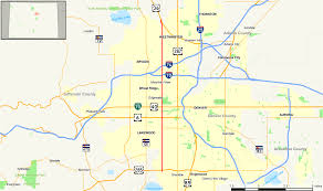 State Of Colorado Map by Colorado State Highway 95 Wikipedia