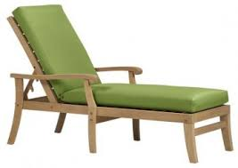 pc designs patio u0026 rattan style 1 chaise lounge cushion hinged