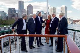 Northern Lights Massachusetts File Secretary Kerry Speaks With His European Counterparts Aboard