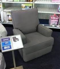Rocking Recliner Chair For Nursery Zoey Grey Nursery Swivel Glider Recliner Chair Overstock Within
