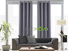 American Drapery And Blinds Amazon Com Deconovo Solid Room Darkening Curtains Thermal