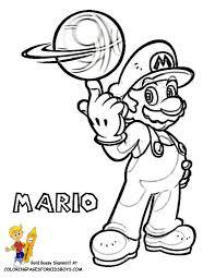 super mario coloring super mario free yoshi coloring mario