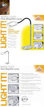 Led Magnifier Floor Lamp Low Vision Magnifiers Magnifier Floor Lamp Magnifying Glass Led