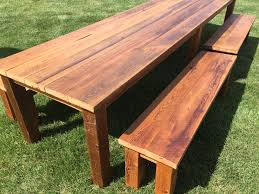 Rustic Reclaimed Outdoor Furniture Historic Timber Tops Historic Timber And Plank