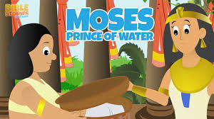 moses grows up as a prince bible stories for kids youtube