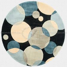 Bathroom Round Rugs by Contemporary Patterned Round Rug Texture 20006