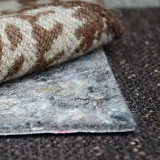 no muv non slip rectangle rug pad on carpet best rug pads