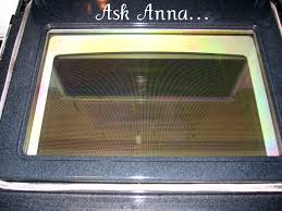 the glass door how to clean oven glass ask anna