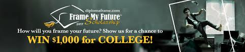 frame my future scholarship contest 2017