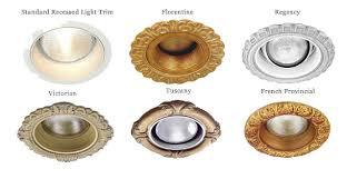 recessed lighting trim rings oversized trim rings for recessed lights regarding property oversized 4 6
