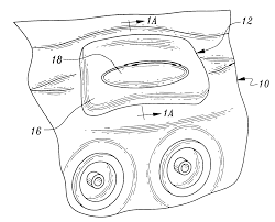 patent us6502253 pillow structure for attachment to the shell of