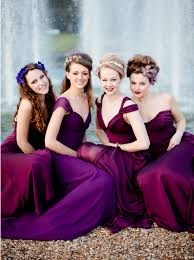 Begonia Bridesmaid Dresses 2014 Wedding Color Trend Is Radiant Orchid These Bridesmaids Are