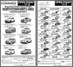 jeep ads 2017 clearance event northtown chrysler jeep dodge tonawanda ny