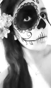 Black And White Halloween Makeup Ideas 25 Best Calavera Face Painting Inspiration Images On Pinterest