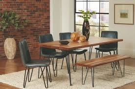 chambler solid mahogany dining room table 122231 savvy discount