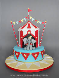 dumbo circus christening cake cakes by natalie porter 2