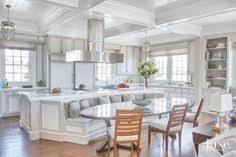 Typical Kitchen Island Dimensions Trend Alert A Kitchen Island That U0027s Also A Breakfast Nook