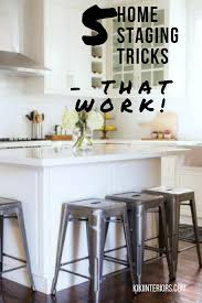 5 home staging tricks real estate and interiors