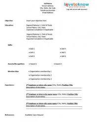 Blank Resume Templates For Microsoft Word Resume Example Free Printable Resume Samples Free Printable