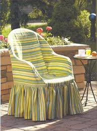 the twiggery outdoor patio resin patio chair slipcover