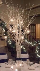 flower arrangements with lights joking hazard chic wedding confetti and centerpieces