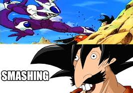 Nigel Thornberry Memes - goku smashing by confusedgorilla on deviantart