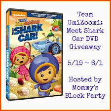 mommy u0027s block party team umizoomi meet shark car dvd review