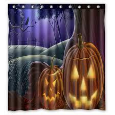 halloween shower curtain set image titled make scary halloween