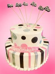 happy 40th birthday cake sweet somethings desserts