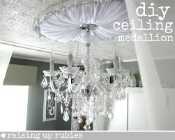 Cheap Ceiling Medallions by Raising Up Rubies Blog Do It Yourself Upholstered Ceiling Medallion