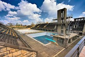 list of olympic venues in swimming wikipedia