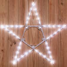 bright star lights christmas christmas hanging led star cool bright white outdoor outdoor