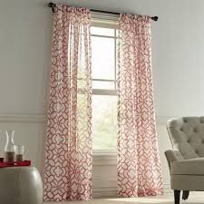 bedroom design magnificent coral curtain panels living room